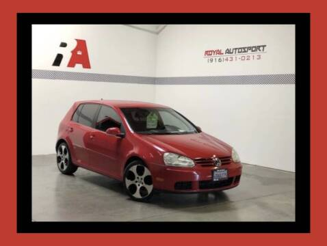 2007 Volkswagen Rabbit for sale at Royal AutoSport in Sacramento CA