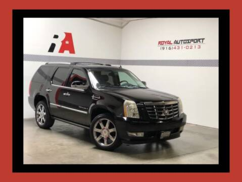 2009 Cadillac Escalade for sale at Royal AutoSport in Sacramento CA