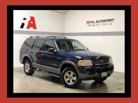 2004 Ford Explorer for sale at Royal AutoSport in Sacramento CA