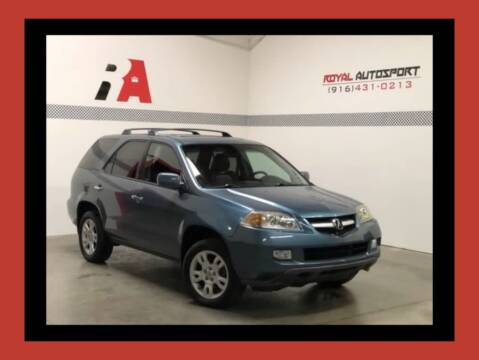 2005 Acura MDX for sale at Royal AutoSport in Sacramento CA