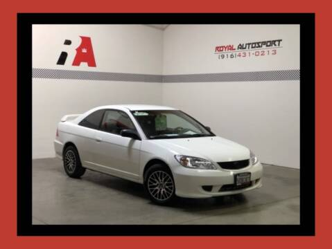 2005 Honda Civic for sale at Royal AutoSport in Sacramento CA