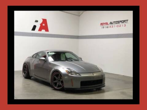 2003 Nissan 350Z for sale at Royal AutoSport in Sacramento CA
