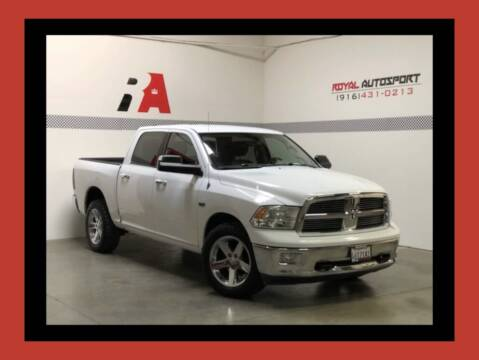 2011 RAM Ram Pickup 1500 for sale at Royal AutoSport in Sacramento CA