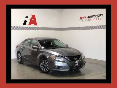 2017 Nissan Altima for sale at Royal AutoSport in Sacramento CA