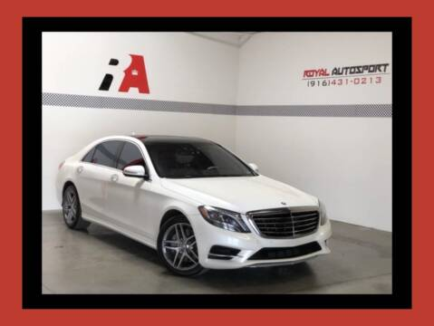 2014 Mercedes-Benz S-Class for sale at Royal AutoSport in Sacramento CA