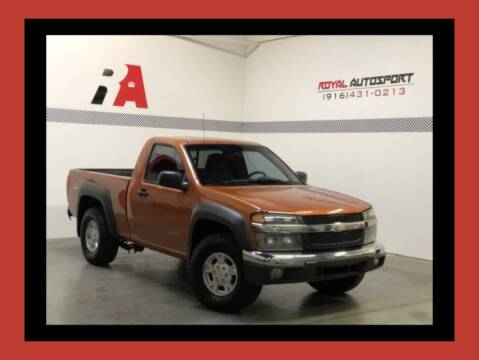 2005 Chevrolet Colorado for sale at Royal AutoSport in Sacramento CA