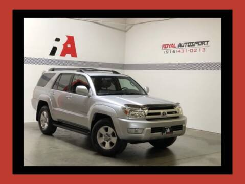 2005 Toyota 4Runner for sale at Royal AutoSport in Sacramento CA
