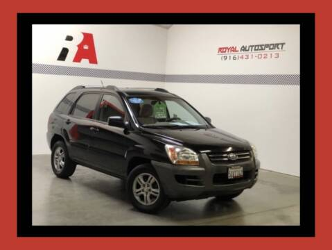 2006 Kia Sportage for sale at Royal AutoSport in Sacramento CA
