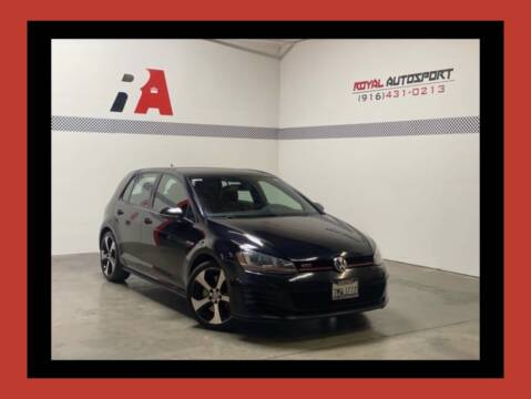 2016 Volkswagen Golf GTI for sale at Royal AutoSport in Sacramento CA
