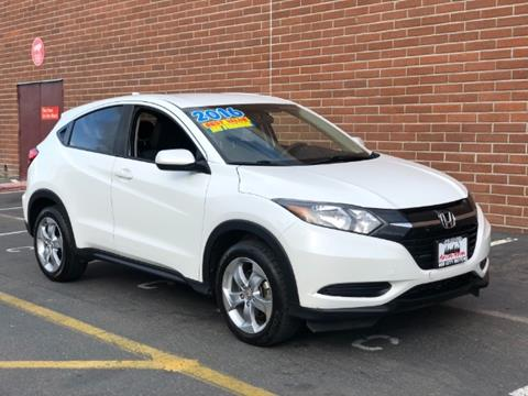 2016 Honda HR-V for sale in Sacramento, CA