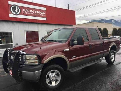 2005 Ford F-250 Super Duty for sale in Missoula, MT