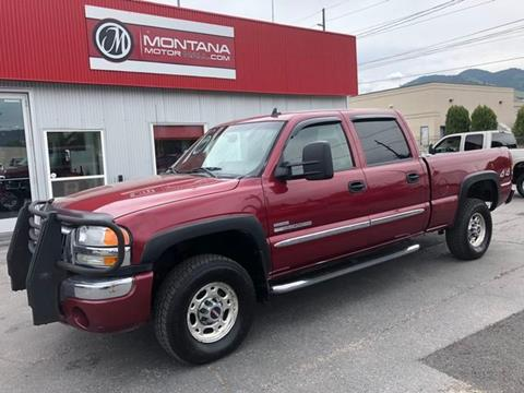2006 GMC Sierra 2500HD for sale in Missoula, MT