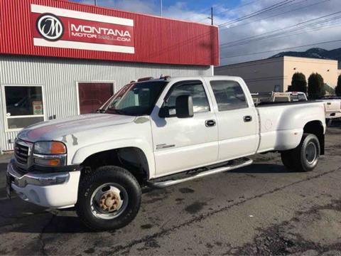 2007 GMC Sierra 3500 Classic for sale in Missoula, MT