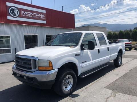 2001 Ford F-250 Super Duty for sale in Missoula, MT
