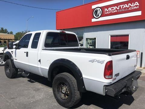 2004 Ford F-250 Super Duty for sale in Missoula, MT