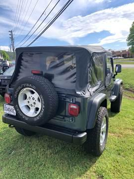 2002 Jeep Wrangler for sale in Birmingham, AL