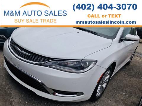 2015 Chrysler 200 for sale in Lincoln, NE
