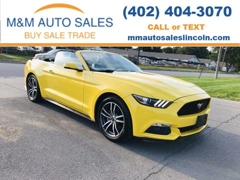 2016 Ford Mustang for sale in Lincoln, NE