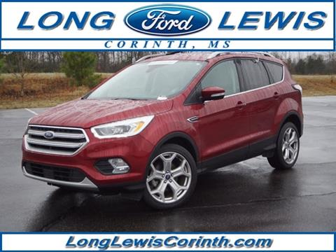 Long Lewis Ford Corinth Ms >> 2017 Ford Escape For Sale In Corinth Ms