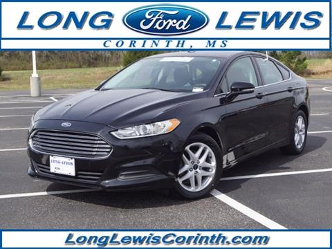Long Lewis Ford Corinth Ms >> 2016 Ford Fusion For Sale In Corinth Ms