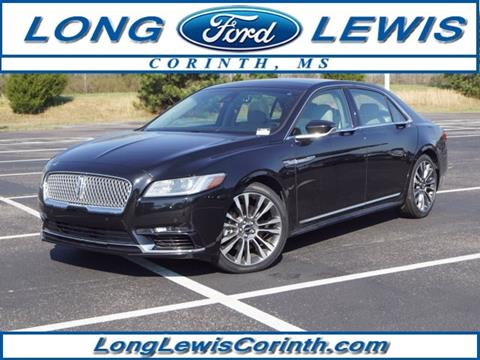 2017 Lincoln Continental for sale in Corinth, MS
