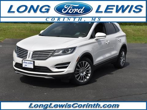 Long Lewis Ford Corinth Ms >> 2016 Lincoln Mkc For Sale In Corinth Ms