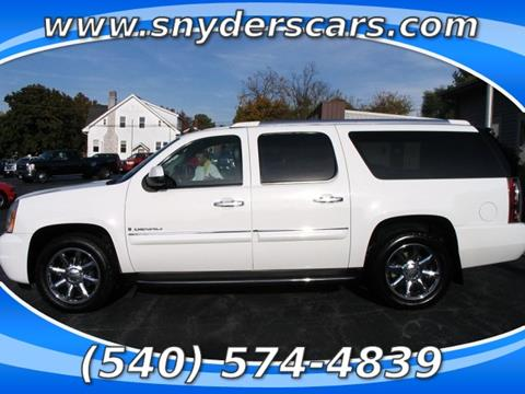 2008 GMC Yukon XL for sale in Harrisonburg, VA