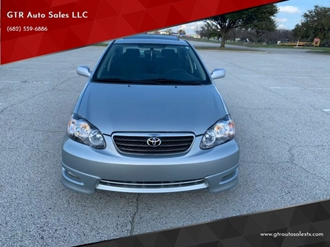 2007 Toyota Corolla S for sale at GTR Auto Sales LLC in Haltom City TX