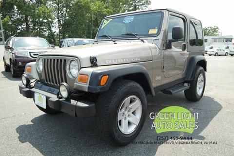 2004 Jeep Wrangler for sale in Virginia Beach, VA