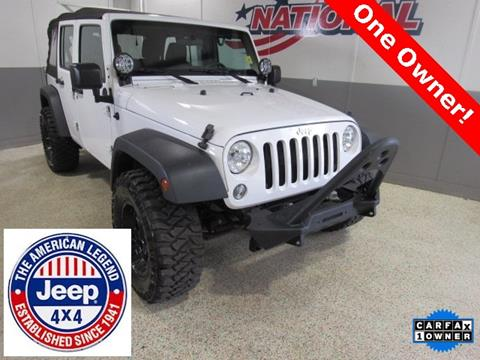 2015 Jeep Wrangler Unlimited for sale in Jacksonville, NC