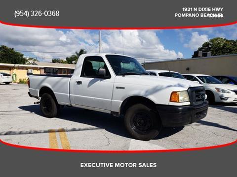 2005 Ford Ranger for sale in Pompano Beach, FL