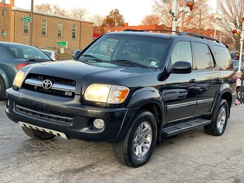 2005 Toyota Sequoia Limited for sale at IMPORT Motors in Saint Louis MO