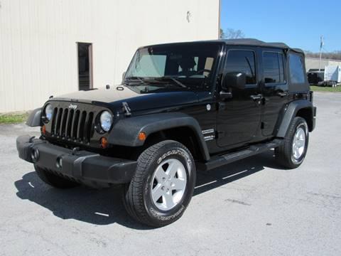 2010 Jeep Wrangler Unlimited for sale in Fort Oglethorpe, GA