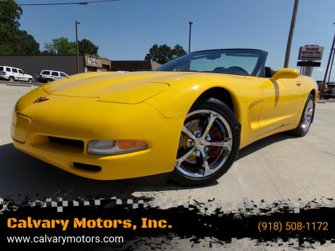 2004 Chevrolet Corvette for sale at Calvary Motors, Inc. in Bixby OK