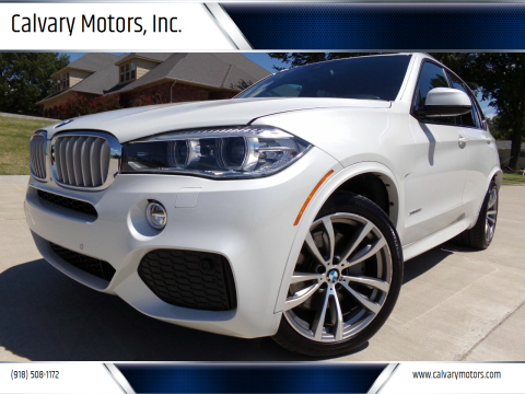 2015 BMW X5 for sale at Calvary Motors, Inc. in Bixby OK