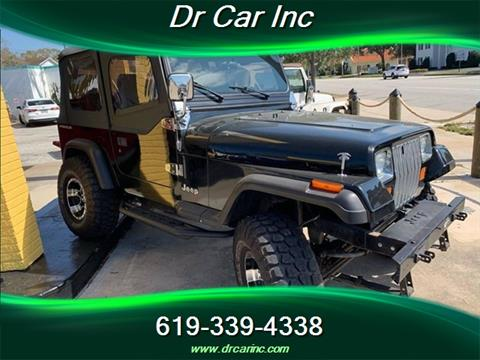 1992 Jeep Wrangler for sale in San Diego, CA