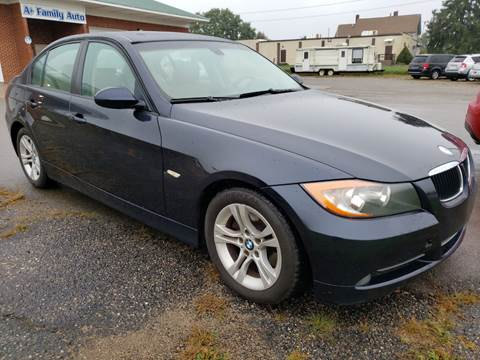 2008 BMW 3 Series for sale at A+ Family Auto in Marshall MI