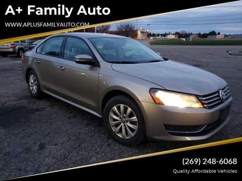 2015 Volkswagen Passat for sale at A+ Family Auto in Marshall MI