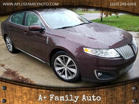 2010 Lincoln MKS for sale at A+ Family Auto in Marshall MI
