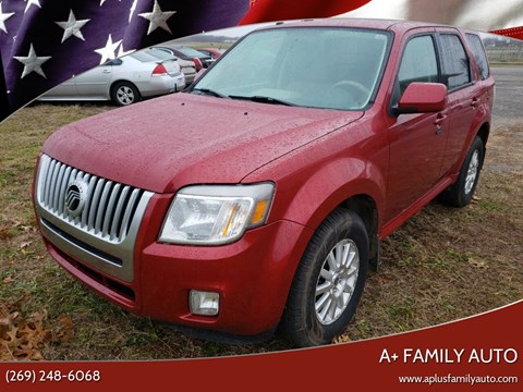 2010 Mercury Mariner for sale at A+ Family Auto in Marshall MI