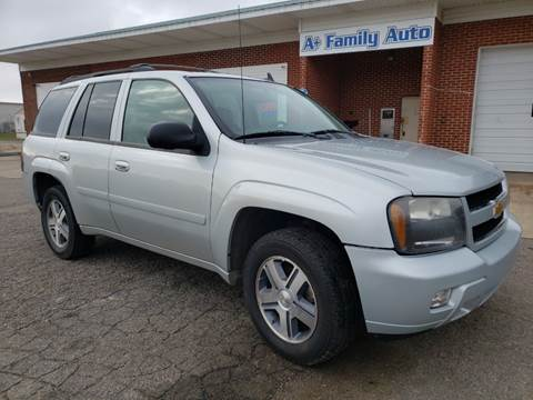 2008 Chevrolet TrailBlazer for sale at A+ Family Auto in Marshall MI
