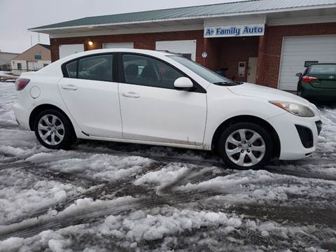 2010 Mazda MAZDA3 for sale at A+ Family Auto in Marshall MI