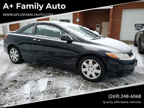 2008 Honda Civic for sale at A+ Family Auto in Marshall MI