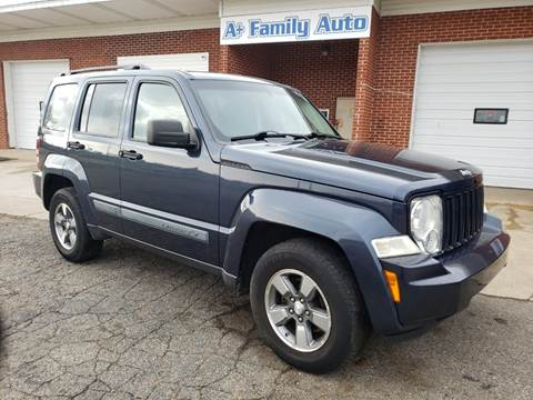 2008 Jeep Liberty for sale at A+ Family Auto in Marshall MI