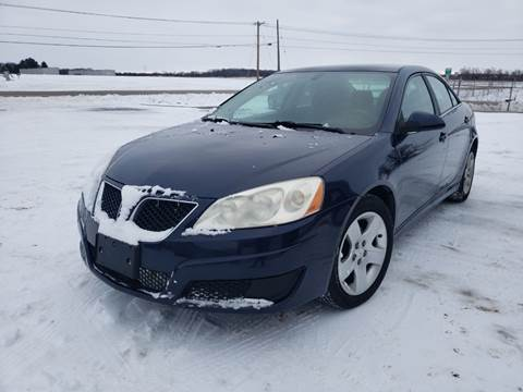 2010 Pontiac G6 for sale at A+ Family Auto in Marshall MI