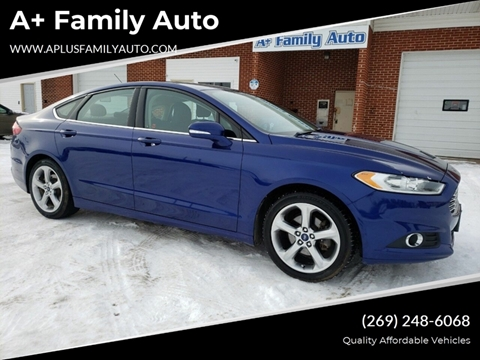 2013 Ford Fusion for sale at A+ Family Auto in Marshall MI