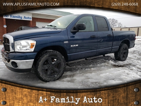 2008 Dodge Ram Pickup 1500 for sale at A+ Family Auto in Marshall MI