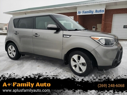 2015 Kia Soul for sale at A+ Family Auto in Marshall MI