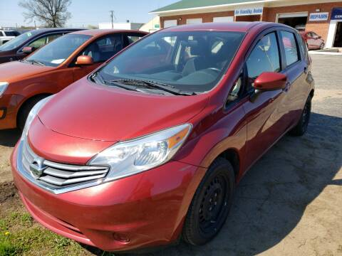2016 Nissan Versa Note for sale at A+ Family Auto in Marshall MI
