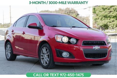 2015 Chevrolet Sonic for sale in Denton, TX